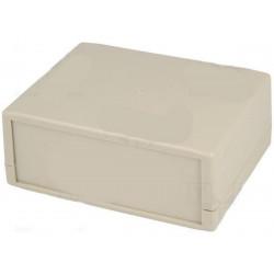 Consolle custodia contenitore con pannello 130 x 100 x 50mm ABS grigio IP43