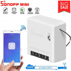 Sonoff MINI Small Smart Switch RF Light Ewelink Remote Control WiFi Switch