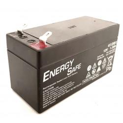 Batteria al piombo ricaricabile ermetica AGM VLRA 12V 1,3Ah uso ciclico e standby