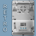 Sirena Defender LB wireless 868MHz 100dB lampeggiante BLU batterie torcia tipo D