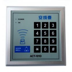 Cerradura electrónica RFID + código 10000 usuarios relé abrepuertas wiegand 12V DC