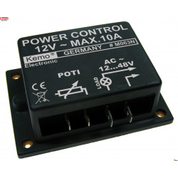 POWER CONTROL 12V AC 10A for motors, heaters and transformers