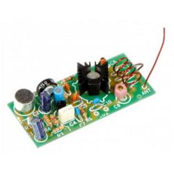 KIT MINI MICROSPIA FM Trasmettitore miniatura 88 - 108 MHz per radio FM