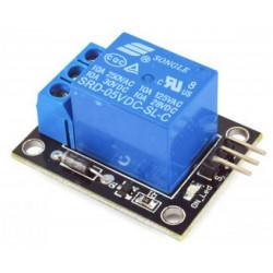 Modulo montato 1 relè bobina 5 Vdc contatti NA NC COM 250V 10A per Arduino
