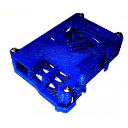 Case container for Raspberry PI 2 3 vertical mounting DIN printed PLA
