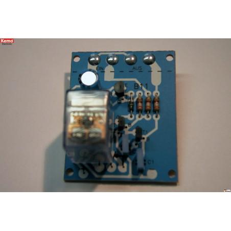 KIT interruttore ON OFF sfioramento touch 12V con relè uscita 230V 3A
