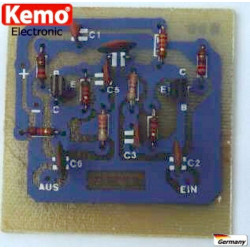 KIT amplificatore antenna 20dB, 30-850 MHz, 50 - 75 Ohm, 9-12 VDC