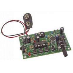 KIT Truccavoce cambia voce elettronico robotica vibrato acuta grave a batteria