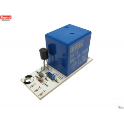 KIT de módulo de relé de 12 V CC para Arduino y sistemas integrados con salida de CC de 3 a 12 V