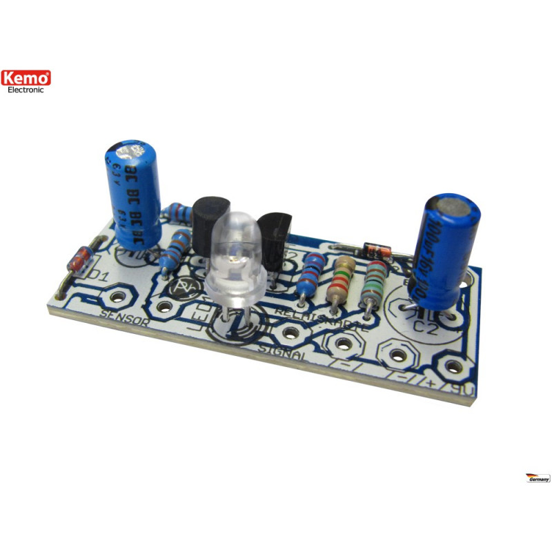 12V DC water level sensor KIT with LED indication and voltage output