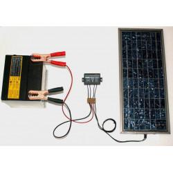 Paneles fotovoltaicos de batería de plomo del controlador de carga solar 12V DC 6A