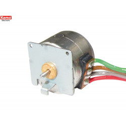 Micro motore passo-passo 20 passi-giro 4 fili bipolare bobine 15ohm