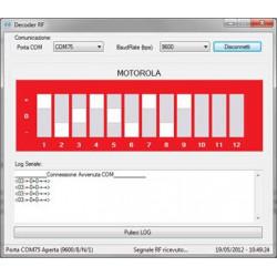 USB RECEIVER DECODER REMOTE CONTROL RF 433.92MHz PC, embedded, Raspberry PI