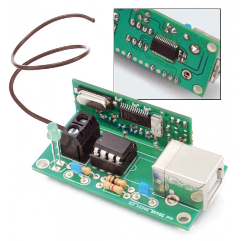 USB-EMPFÄNGER-DECODER FERNBEDIENUNG RF 433,92 MHz PC, eingebettet, Raspberry PI