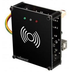 Electronic lock, RFID reader, USB port, PC user programming