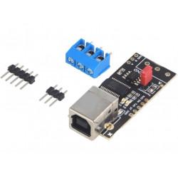 Modulo convertitore USB-RS485 chip FT232RL connettore USB B con pioli saldabili