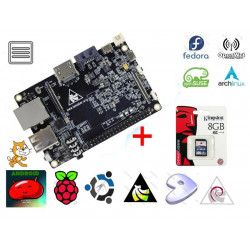 KIT Embedded PC Banana PRO ARM dual core 1GHz + microSD card 8GB with OS