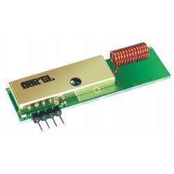 MODULO TRASMETTITORE alta potenza SAW 433 MHZ con antenna elicoidale integrata