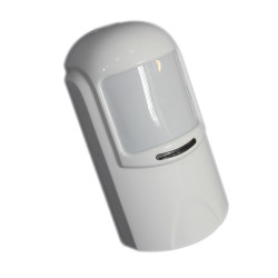 ADVANCED PIR & MW DOUBLE TECHNOLOGY SENSOR FOR WIRED BURGLAR ALARM WITH JOINT