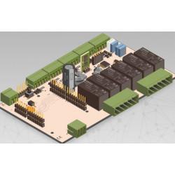 IONO SOLO - Interfaz de protección de E / S profesional para placa de barra DIN de carcasa Arduino