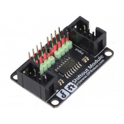 Modulo Shield expander IC 74HC595 8 bit OUTPUT shift register tri-state Arduino