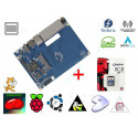 KIT Router Banana PI dual core 1GHz 5x Ethernet, WIFI + microSD card 8GB with OS