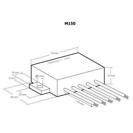DC PWM Spannungsregler für Leistungsregler M012 M028N
