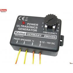 Generatore di potenza Ultrasuoni regolabile 8 – 40KHz alimentazione 12 – 15V DC
