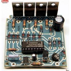 KIT centralina gestione luci, LED, insegne scorrevoli 4 canali 5A 12V DC