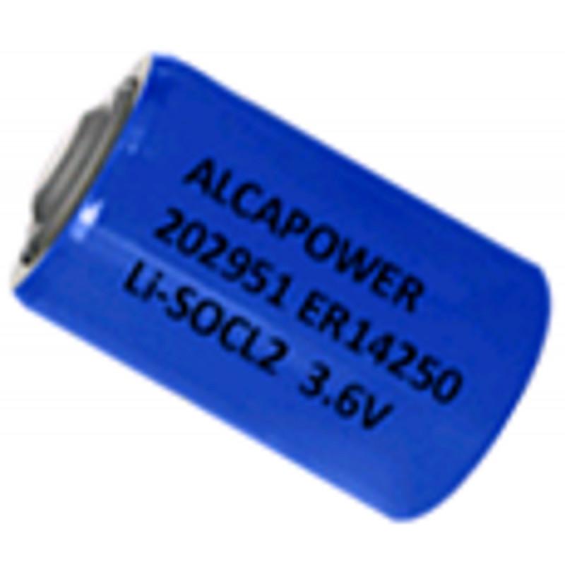 BATTERIA alta capacità LITIO 1/2 AA 3,6 V 1200mA ER14250