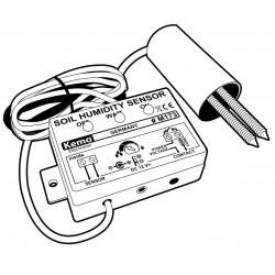 Capteur d'humidité du sol pour l'irrigation avec sensibilité réglable et contact de relais de sortie