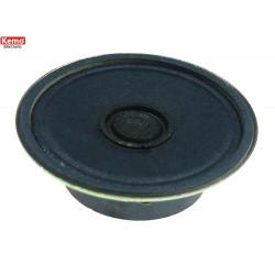 Haut-parleur miniature 8 Ohm 0,25 W diamètre 45 mm contacts à souder