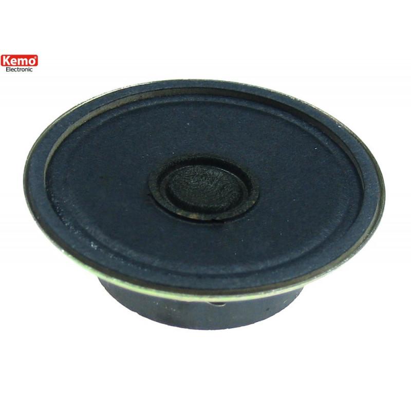 Miniature speaker speaker 8 Ohm 0.25W diameter 45mm solder contacts