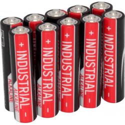 Set da 10 pz pila Ansmann alcalina Industrial Mini Stilo AAA LR03 1,5V