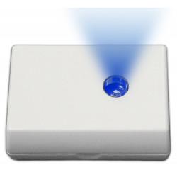 Radio Indicatore stato allarme contatto attivazione wireless STATUS BLU con LED