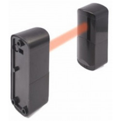FOTOCELLULA infrarossi RX 8-30V DC AC + TX a batteria da esterno 10-20 metri