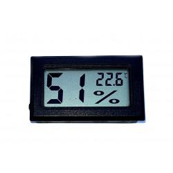 Termometro igrometro digitale da pannello -20°C +70°C umidità 10-99 RH batteria