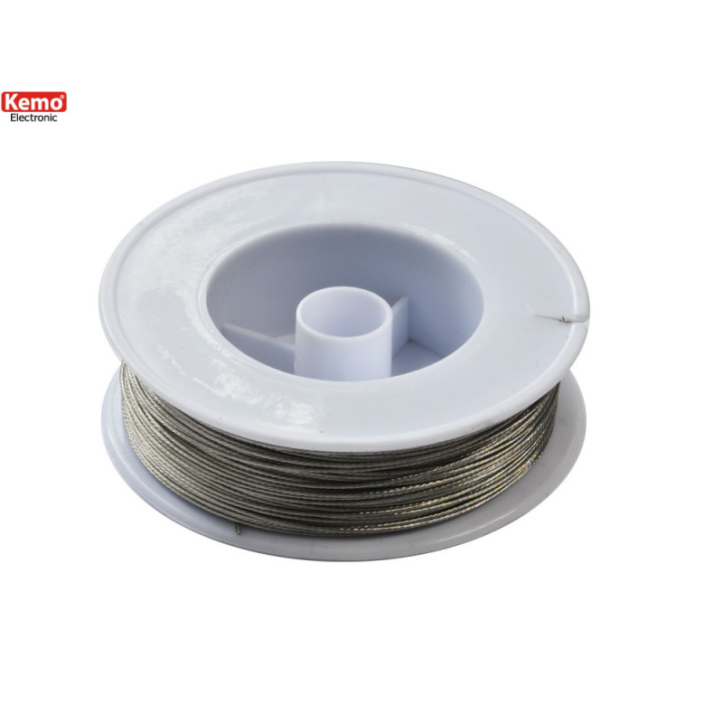 100m stainless steel cable spool for high voltage electrified fences