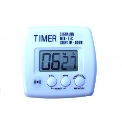 Timer da cucina digitale con display LCD Up Down minuti secondi beep allarme