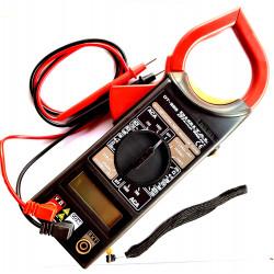 Tester Multimetro digitale Pinza CLAMP corrente AC, Volt, Ohm e continuità