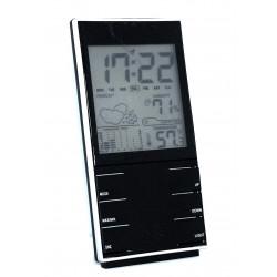 Stazione meteo con orologio sveglia 24h previsioni meteo storico retroilluminata