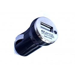 Alimentatore USB da auto accendisigari 12-24V output 5V 1A