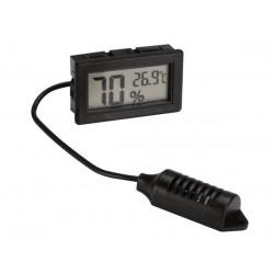Velleman Pmhygro display digitale igrometro/termometro per pannello – nero