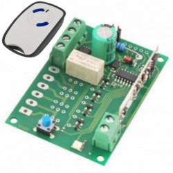 Radiocomando 4 canali ad elevata sicurezza RX 4CH 433,92 MHz