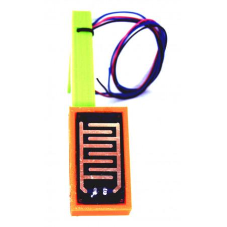 Piastrina rilevazione pioggia riscaldata per sensori pioggia 12V con supporto