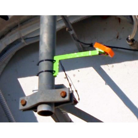 Placa de detección de lluvia calefactada para sensores de lluvia de 12V con soporte