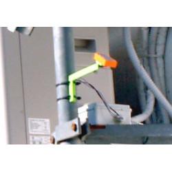 Plaque de détection de pluie chauffée pour capteurs de pluie 12V avec support