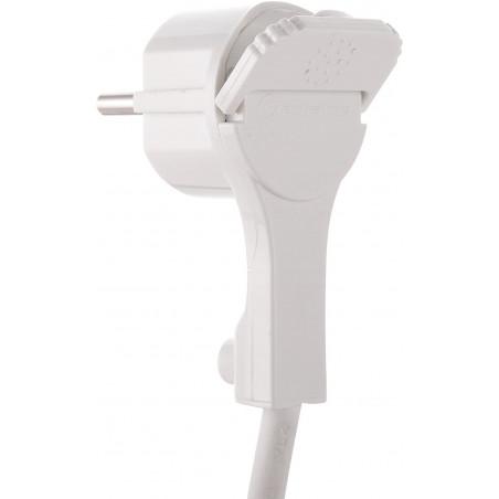 Adattatore 2 USB, 1 shucko, 2 10A,  max 1500W  electraline 71039