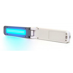 Lampada UV-C sterilizzatrice portatile a batteria + USB superfici indumenti