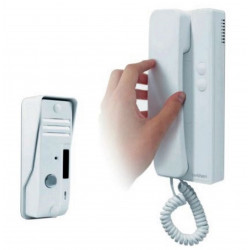 2-wire intercom KIT with external unit, internal handset and Avidsen